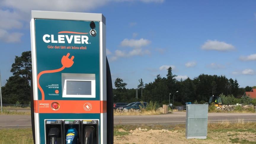 Öresundskraft och Preem laddar elbilar