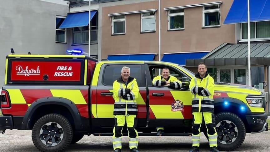 Dafgårds egen räddningstjänst kommer att åka på larm runt om Källby.