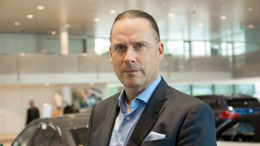 Administrerende direktør i Hedin Automotive, Marcus Larsson