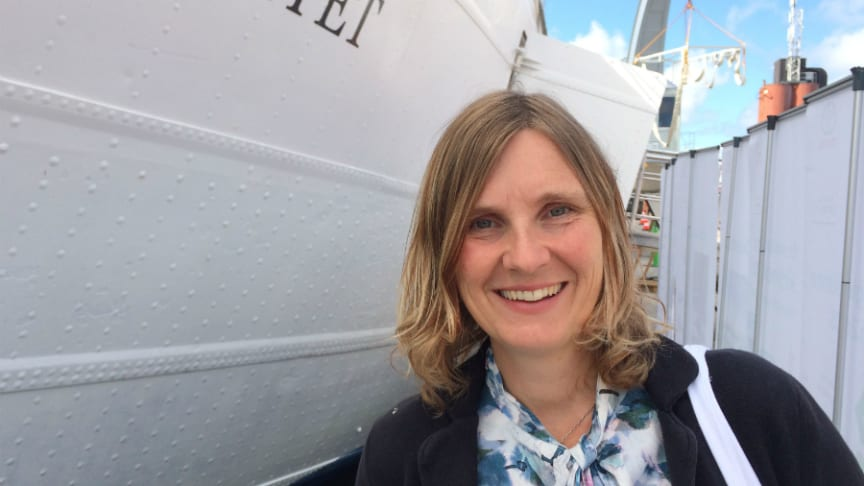Mari-Louise Persson, energistrateg på Riksbyggen, vice ordförande i Värmemarknadskommittén.