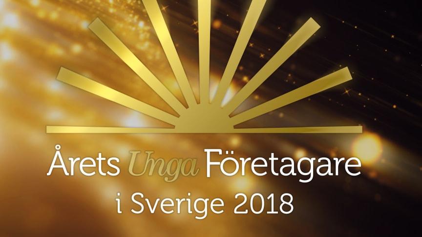 Den 19 oktober delas priset ut till Årets Unga Företagare i Blå hallen i Stockholms Stadshus.