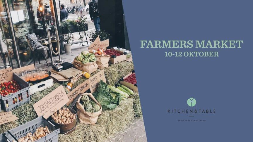 Kitchen & Table Kungsholmen hyllar återigen säsongens primörer och bjuder in till att främja Zero Waste!