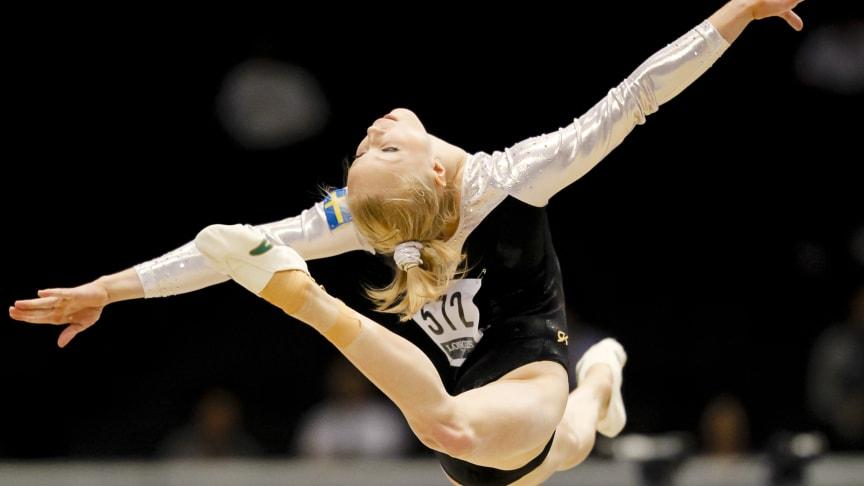SVT Play sänder SM i kvinnlig artistisk gymnastik 2012