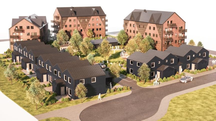 HFAB:s byggstart i Ranagård är planerad till maj 2021.