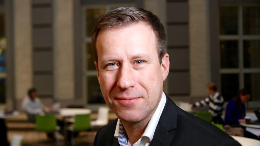 Ola Ejlertsson, affärsansvarig på Handelshögskolan i Stockholm Executive Education (ExEd).