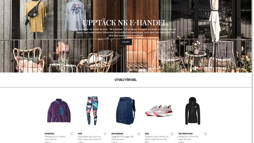 Nordiska Kompaniet startar e-handel