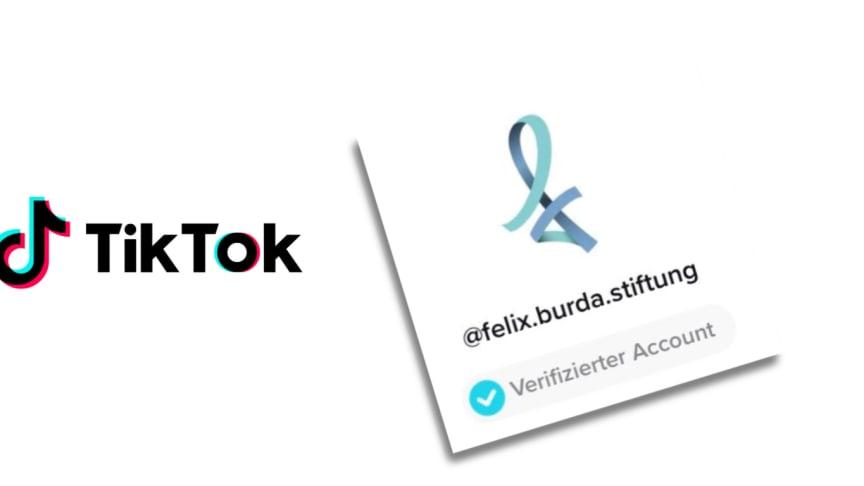 Seit heute verifiziert: Der TikTok-Kanal der Felix Burda Stiftung