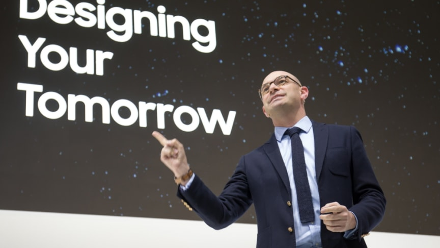 Benjamin Braun, Chief Marketing Officer and Vice President for Samsung Europe