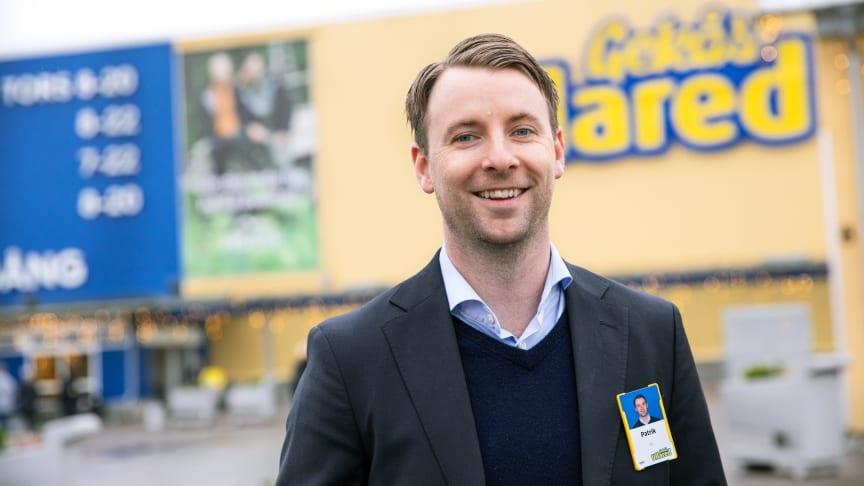 Patrik Levin tillträder som vd för Gekås Ullared 1 januari 2021.