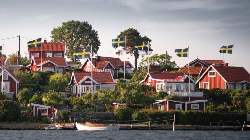 Kolonistugorna på Brändaholm är ett av många, unika och populära besöksmål i skärgårdsstaden Karlskrona. Foto:Visit Karlskrona