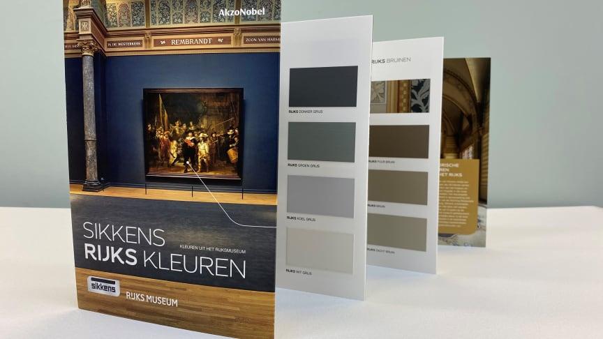 Kunstliefhebbers, designers en Rijksmuseum-fans genieten al jaren van de Sikkens RIJKS Kleuren in hun huis. Voor de nog resterende twijfelaars brengt AkzoNobels verfmerk Sikkens dit jaar een vernieuwde kleurenwaaier op de markt.