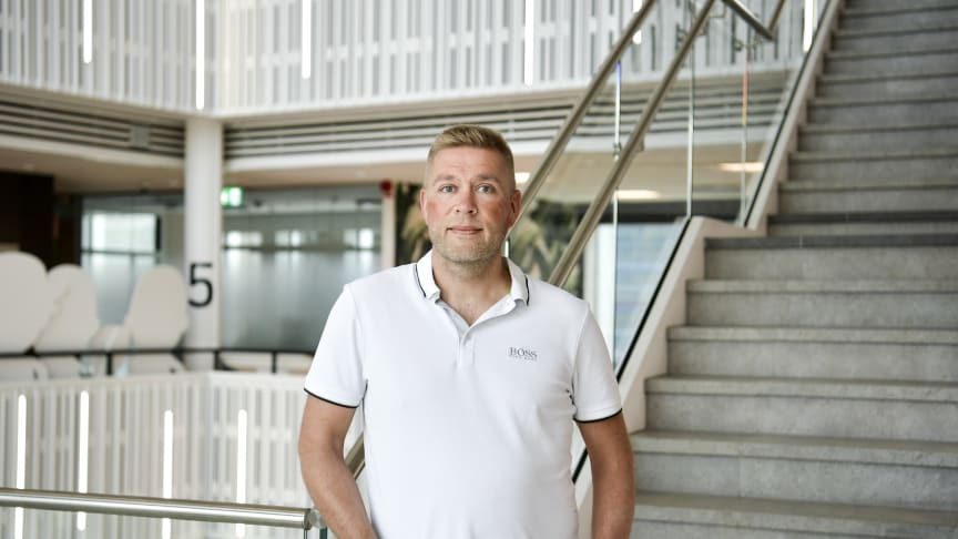 Leif Björklund, tv-chef på Telenor