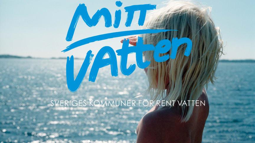 Mitt Vatten är ditt vatten - NSVA deltar i nationell kommunikationssatsning