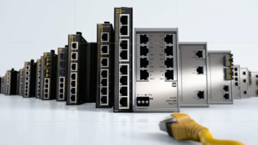 Ethernetswitchar för alla tänkbara applikationer