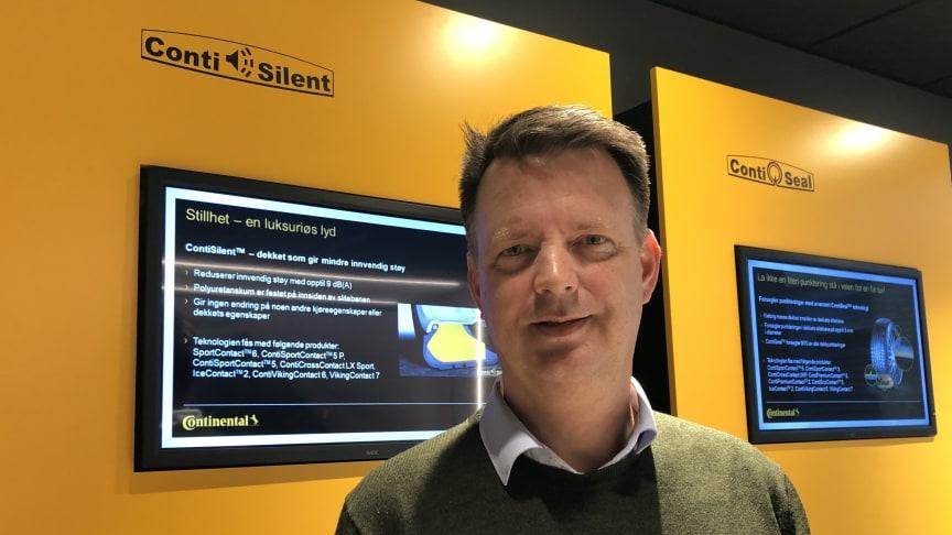 Erik Eidem ny salgssjef i Continental
