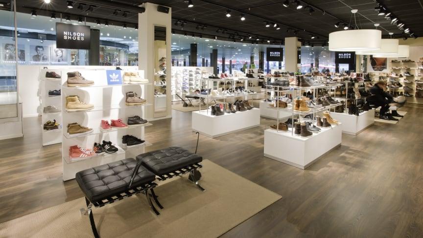 Nilson Shoes öppnar på Bromma Blocks