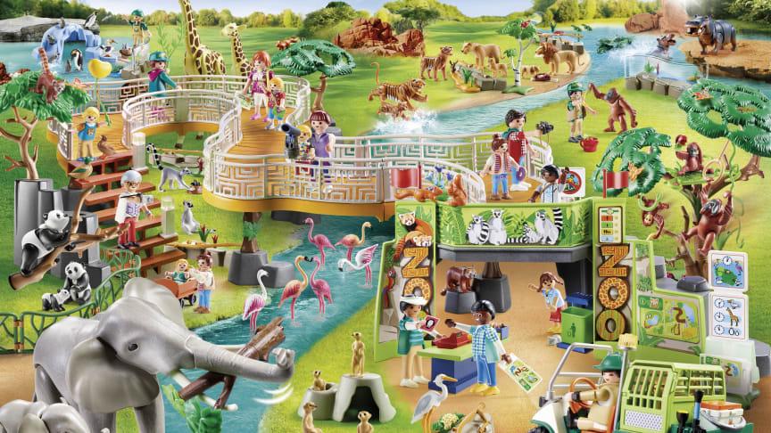 """Die neue Spielwelt """"Erlebnis-Zoo"""" von PLAYMOBIL"""