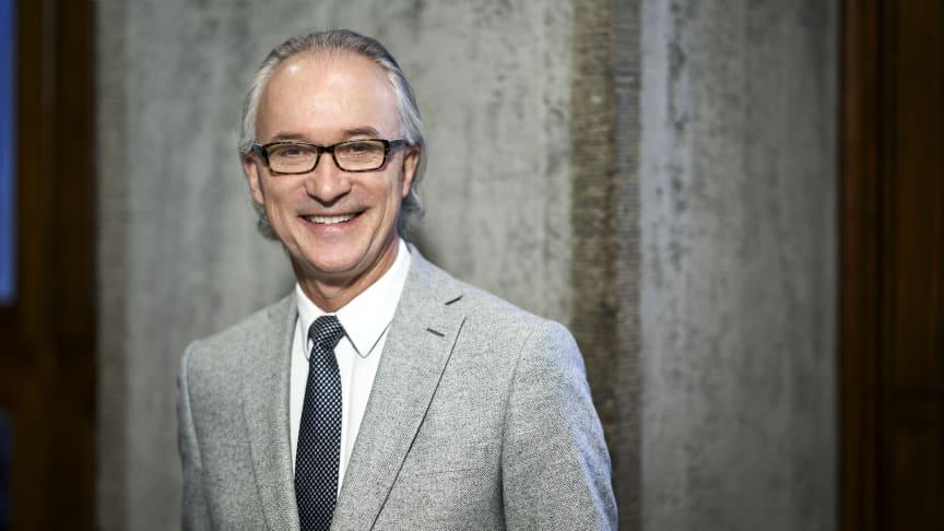 Stefan Forsberg, ledamot av styrelsen, vd för Kungliga Filharmonikerna och ordförande för branschorganisationen Svensk Scenkonst 2012 - 2021. Foto: Mats Lundqvist.