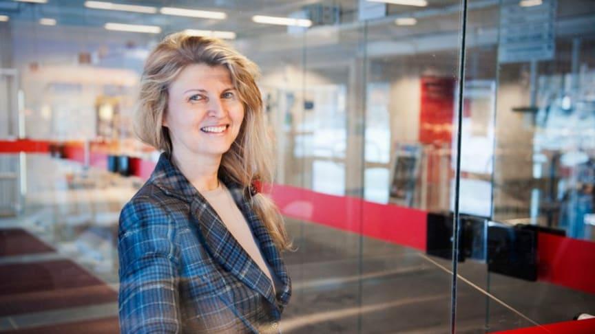 Livia Oláh, docent i demografi vid Sociologiska institutionen, Stockholms universitet. Foto: Eva Dalin/Stockholms universitet.
