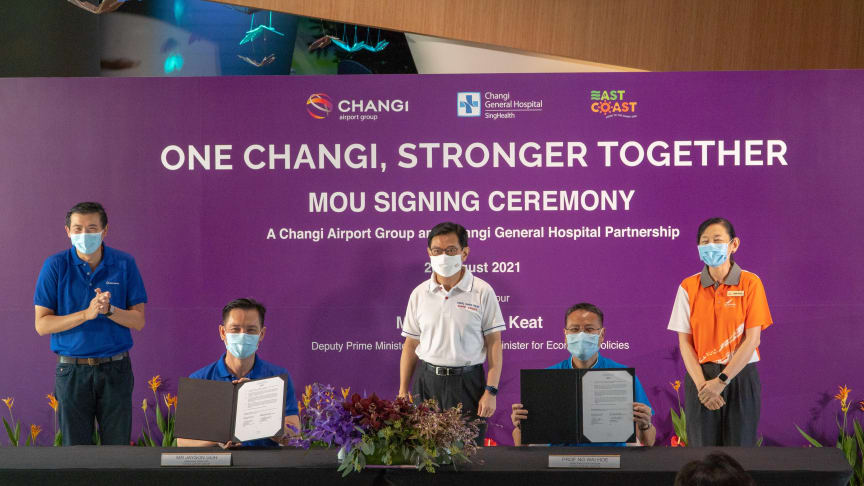 Changi Airport in focus as East Coast GRC Grassroots Organisations and Advisors acknowledge aviation frontliners