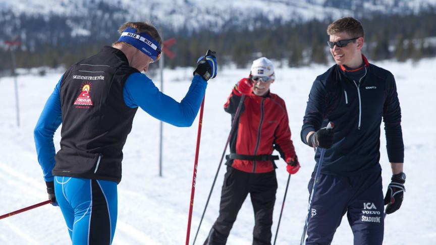 Säsongens instruktörer är Vasaloppsvinnare Henrik Eriksson och Vasaloppsvinnare samt Os-gulldmedaljör Jan Ottosson.