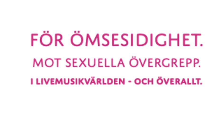 Brännbollsyran, Lollapalooza, Storsjöyran, Way Out West och Eksjö Stadsfest i gemensam satsning för ömsesidighet och mot sexuella övergrepp