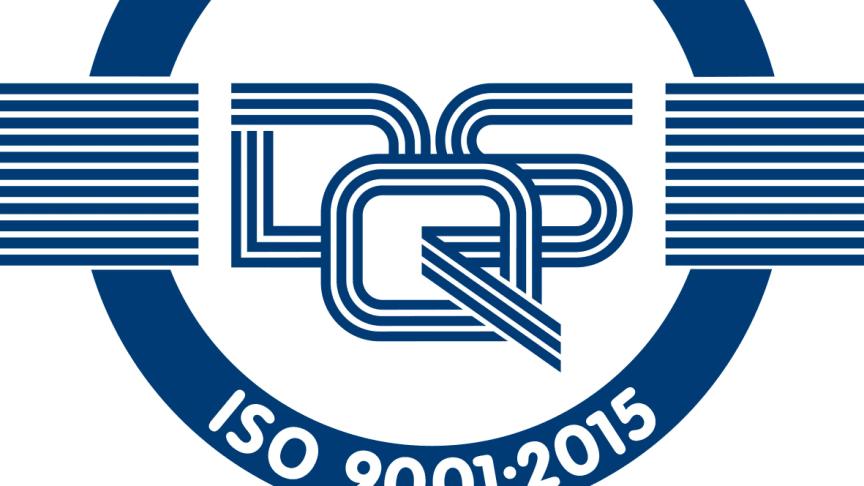 Siegel ISO 9001:2015 der DQS