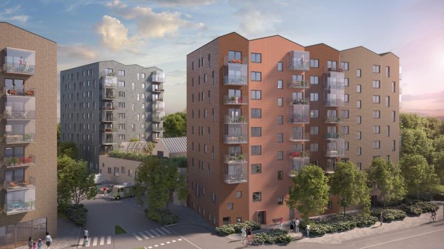 Energy Save levererar byggvärmen till Tommy Byggare AB, totalentreprenör åt Brf Smörslottsgatan 1 i Göteborg
