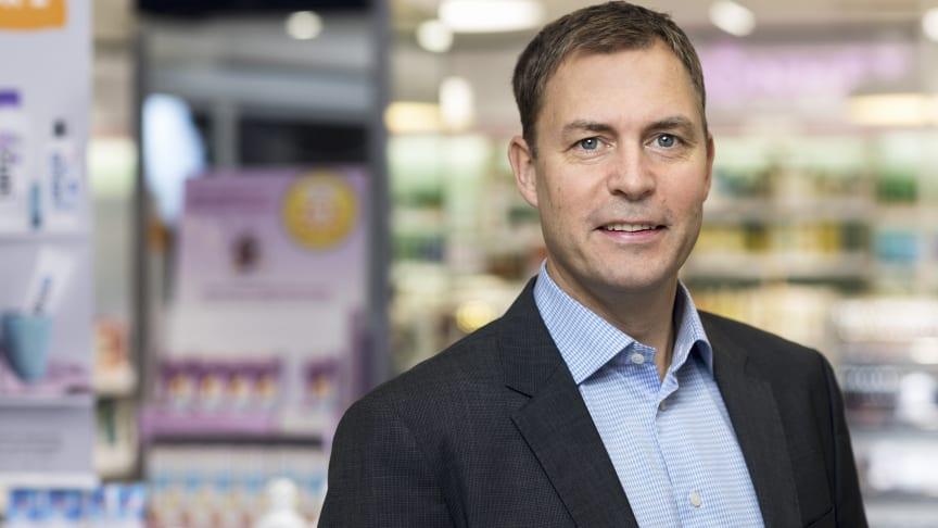 Anders Torell, VD på Kronans Apotek