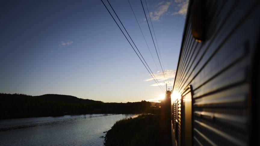 SJs nattåg fortsätter att rulla från Göteborg - mot både Jämtland och Västerbotten 2021.