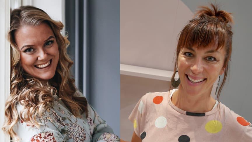Monica Karlstein och Isabelle McAllister är två av experterna på Bo & Bygg. (Foto på Monica Karlstein av Anna Kubel.)
