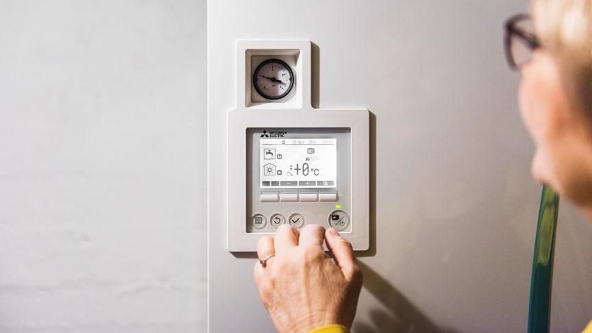 SKRUR PÅ STØTTESATSENE: Markedet for blant annet luft-vann-varmepumper har utviklet seg positivt de siste årene. Derfor justerer Enova støttesatsene.