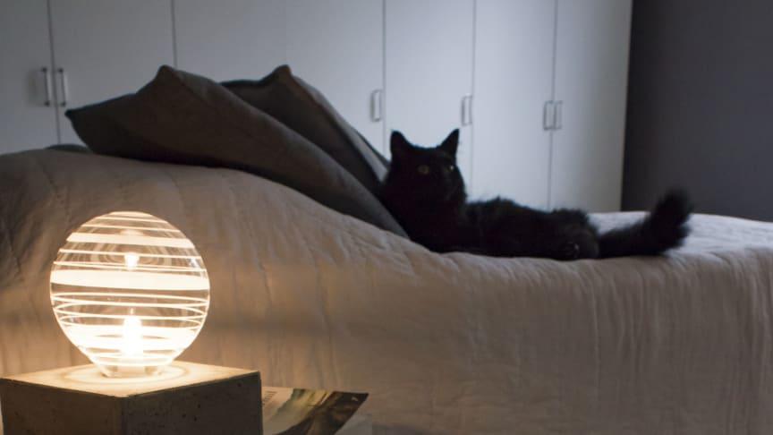 Rustik bordslampa – gör det själv