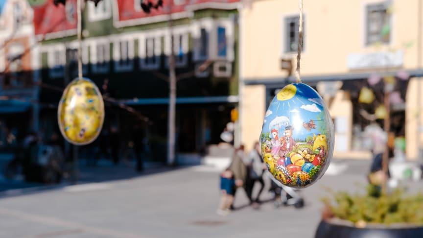 Så blir påsken i Umeå centrum