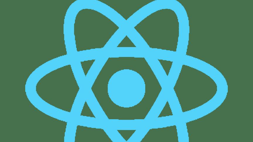Ramverket React logo