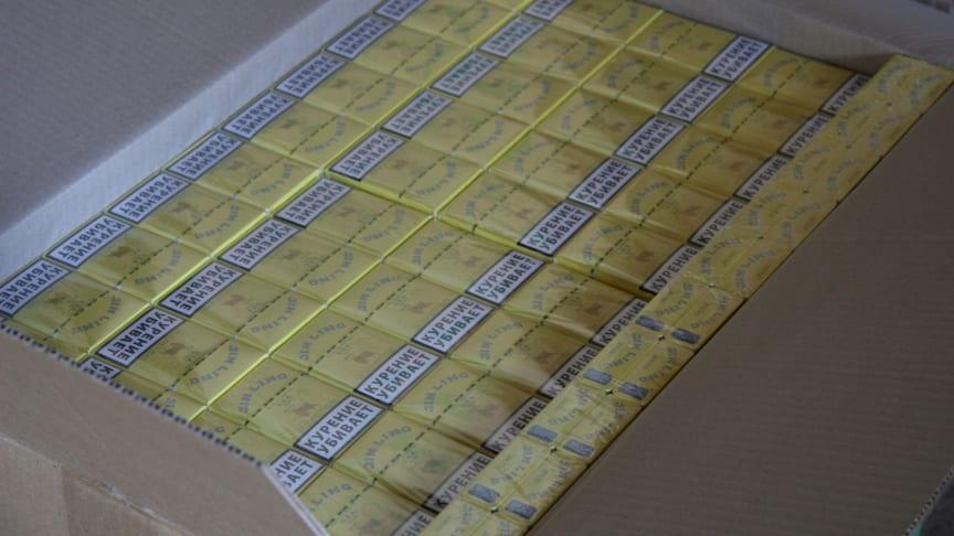 Five arrested in suspected £6m cigarette smuggling investigation