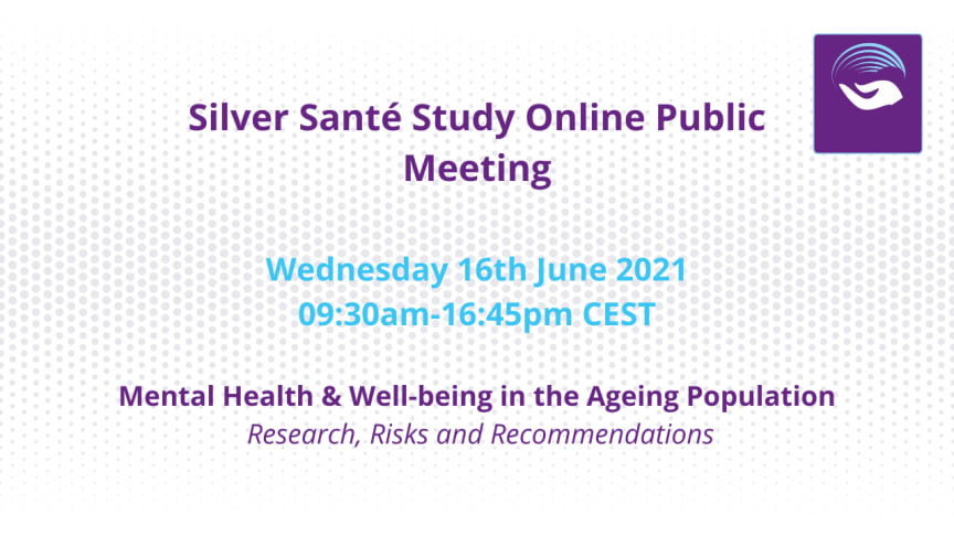 European researchers and experts discuss  Mental Health & Well-being in the Ageing Population