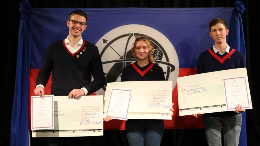 Höchster Louisenlunder Schulpreis verliehen: Herzog-Peter-Preis und Schupo-Verleihung 2020