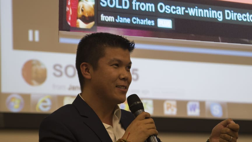 Children's champion Dr Tshering Lama back in Newcastle to promote award-winning movie