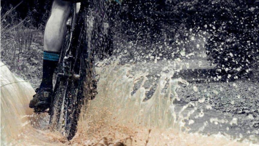 Bridgedale Stormsock fiiliskuva splash1water
