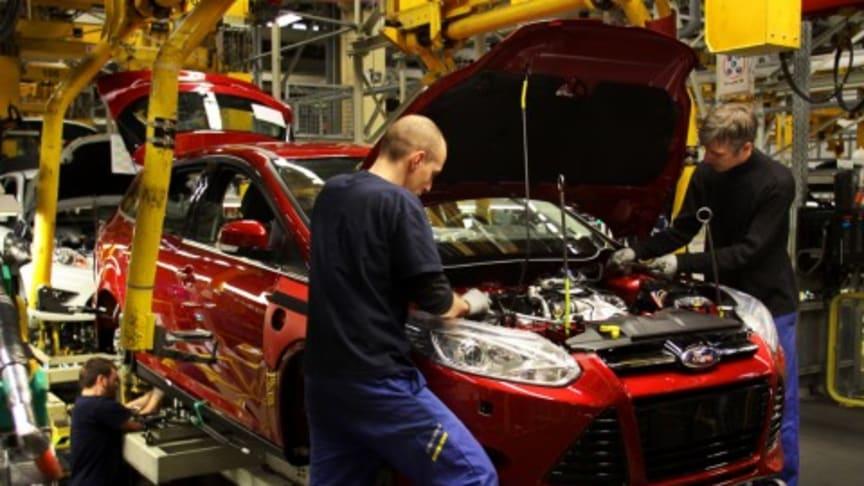 To-sifret vekst styrket Focus' posisjon som verdens mest solgte bilmodell