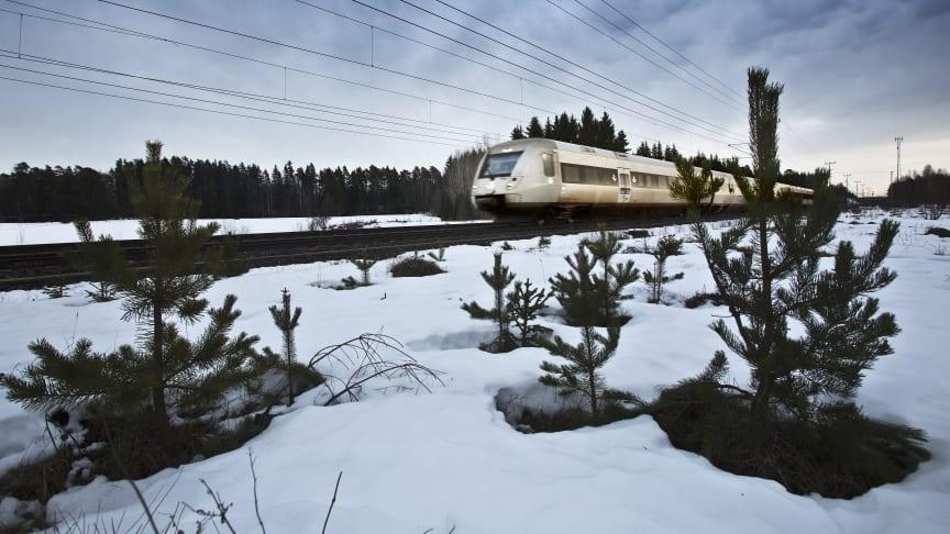 SJs snabbtåg till Östersund tidigareläggs i nästa tidtabell för att matcha länsbussarnas avgångar.