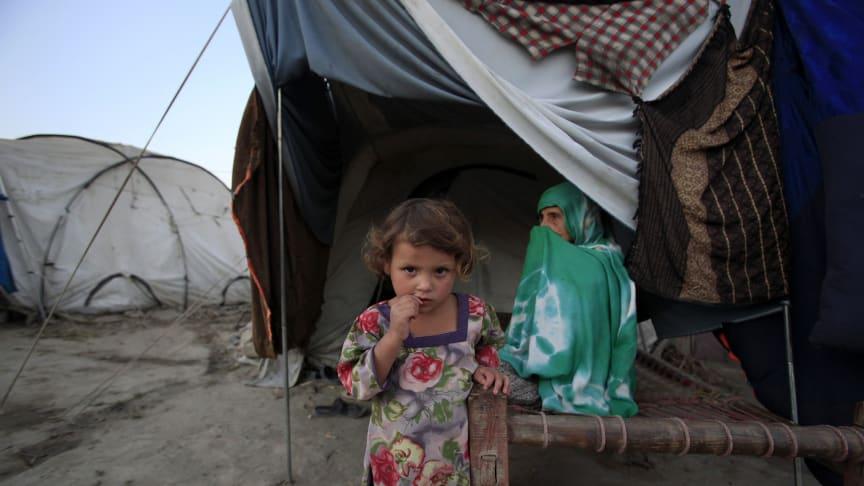 Många barn traumatiserade efter översvämningarna i Pakistan