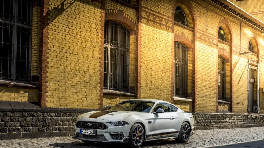 Under Goodwood-festivaleavslöjade Ford att Mustang Mach 1 nu för första gången någonsin kommer till Europa.