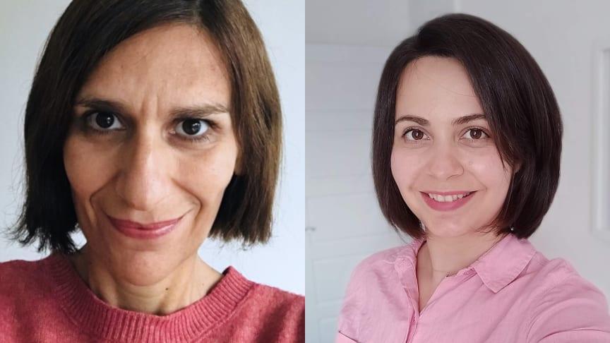 Teresa Almeida, Institutionen för informatik, Umeå universitet och Maryam Mehrnezhad, Newcastle University's School of Computing.