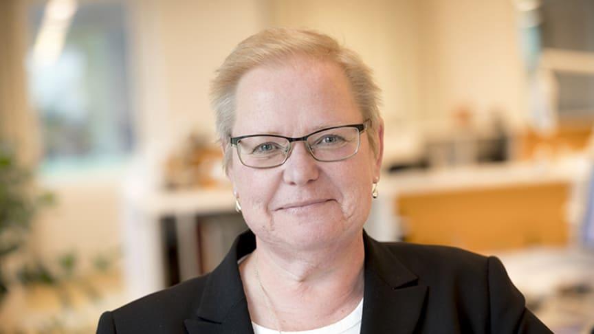 Eva Halldén, SKB:s vd .