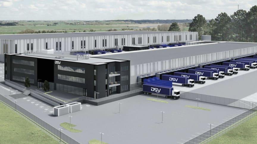 DSV's new Oslo facility features robotic storage