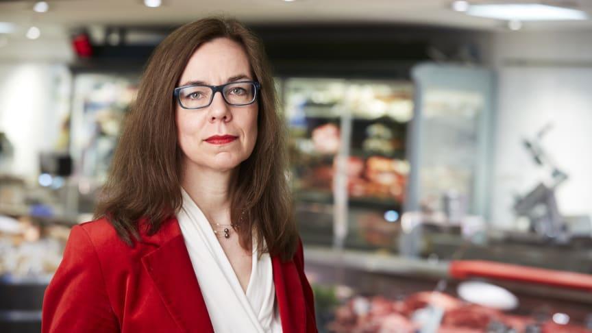 Elisabet Qvarford, vd på Svenskt Kött