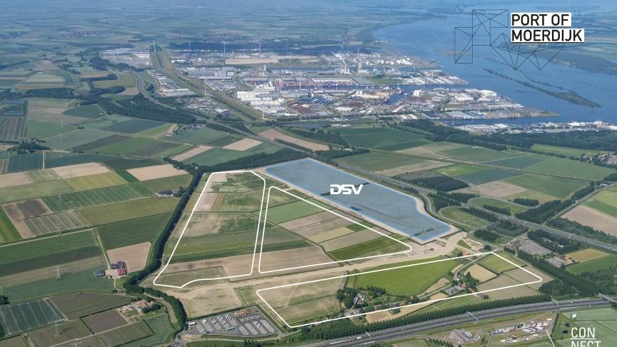 De Breeam-gecertificeerde uitbreiding in Moerdijk stelt DSV in staat om haar groei duurzaam te realiseren