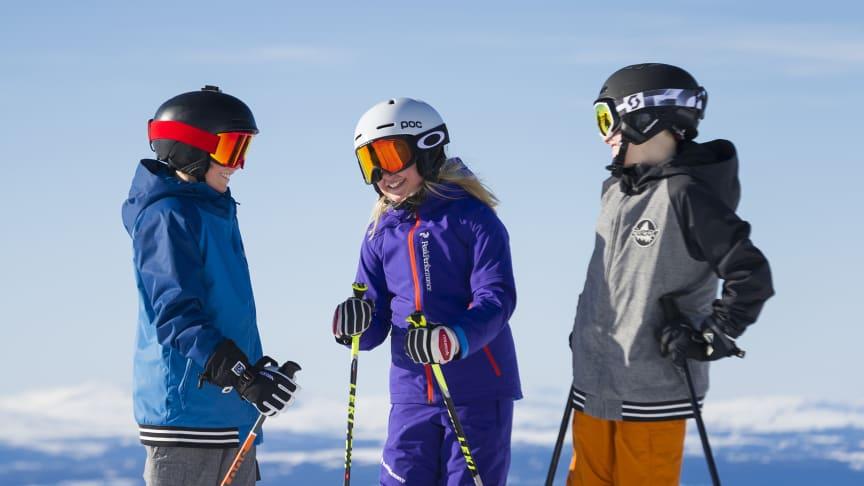 Vinterferieukene var populære i SkiStars skianlegg.